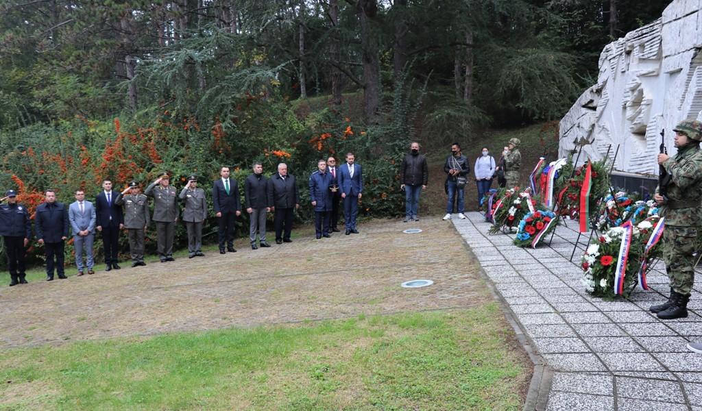 Srpsko ruske komemorativne svečanosti u Spomen kompleksu Čačalica