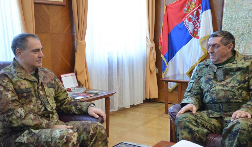 Састанак начелника Генералштаба и команданта КФОР а