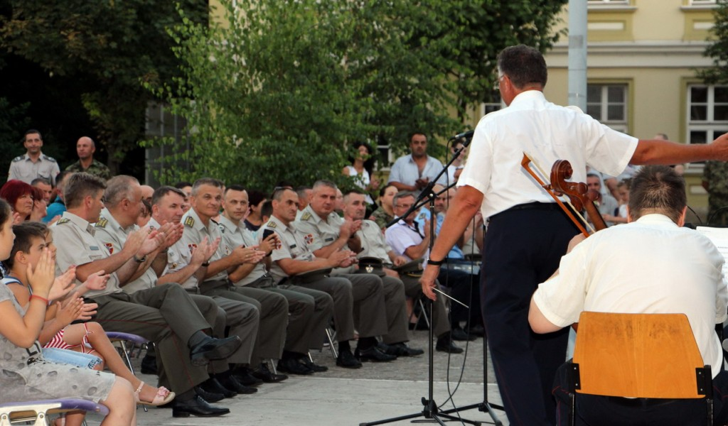 Концерт Биничког поводом Дана Друге бригаде КоВ