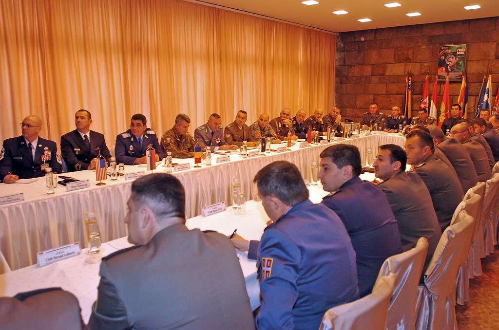 International Forum of Senior Non Commissioned Officers of Central and South East Europe opened