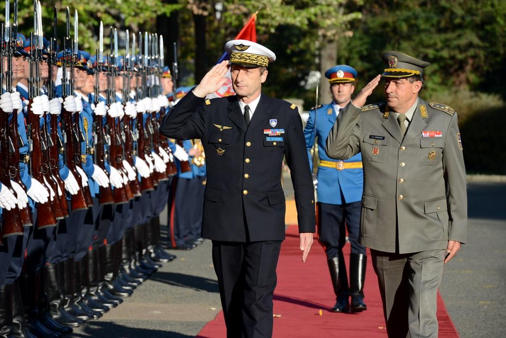 Meeting between Generals Dikovic and De Rousier