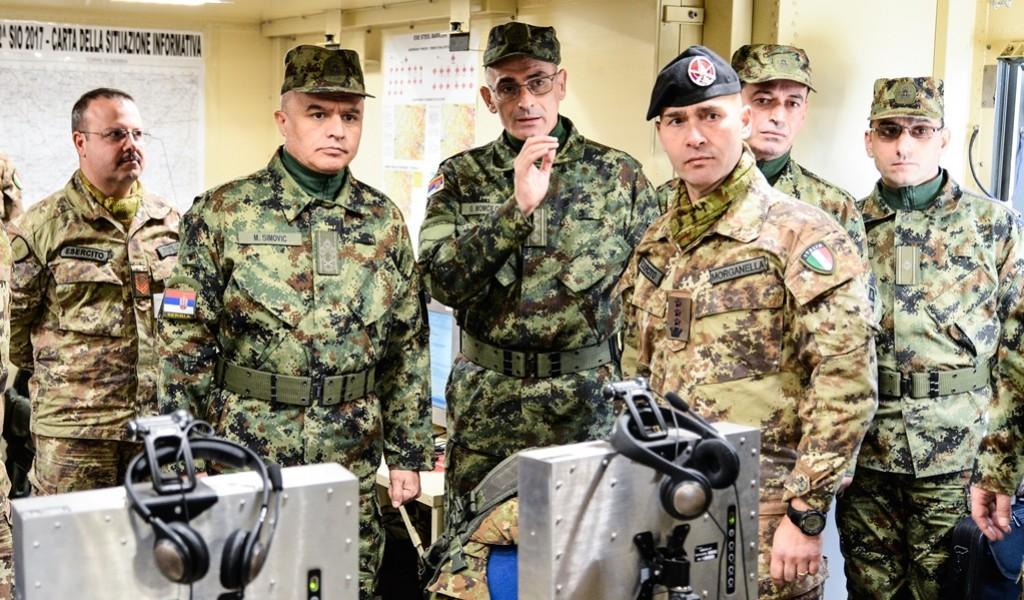 Посета команданта КоВ Италији