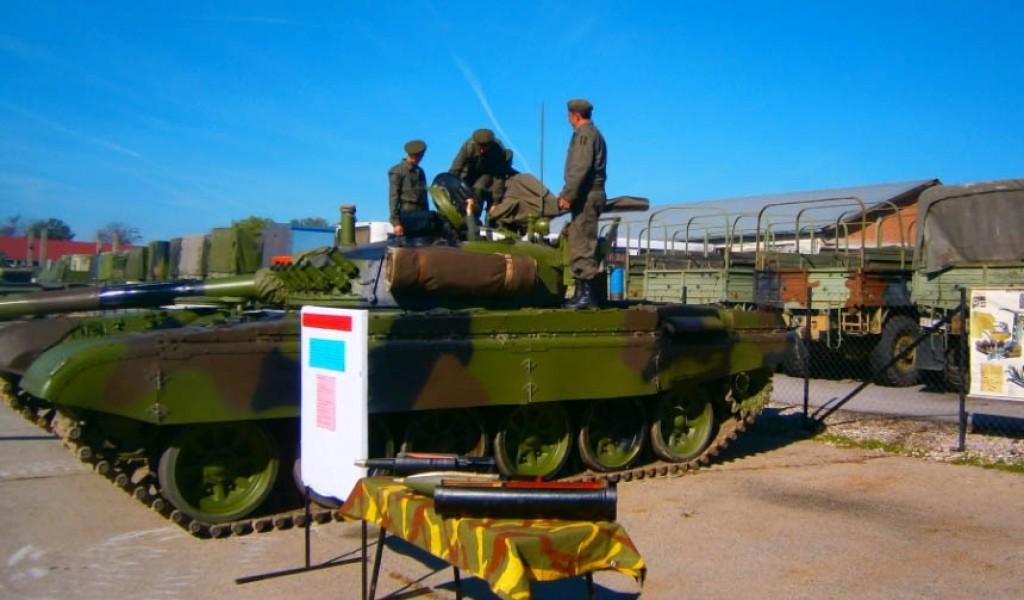 Обука резервног састава Друге бригаде