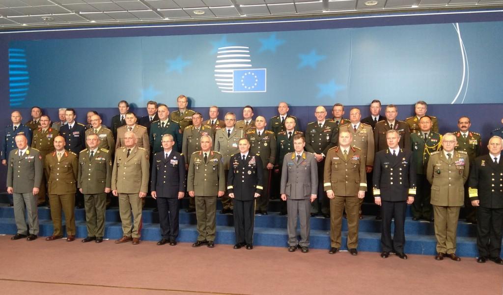 Načelnik Generalštaba na sastanku Vojnog komiteta Evropske unije