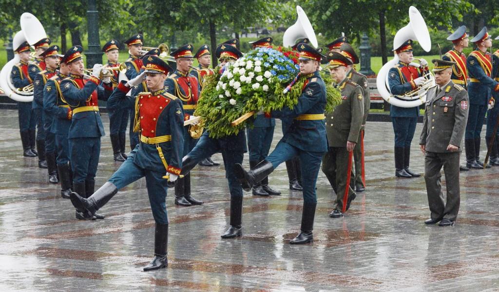 Командант Копнене Војске у посети оружаним снагама Руске Федерације