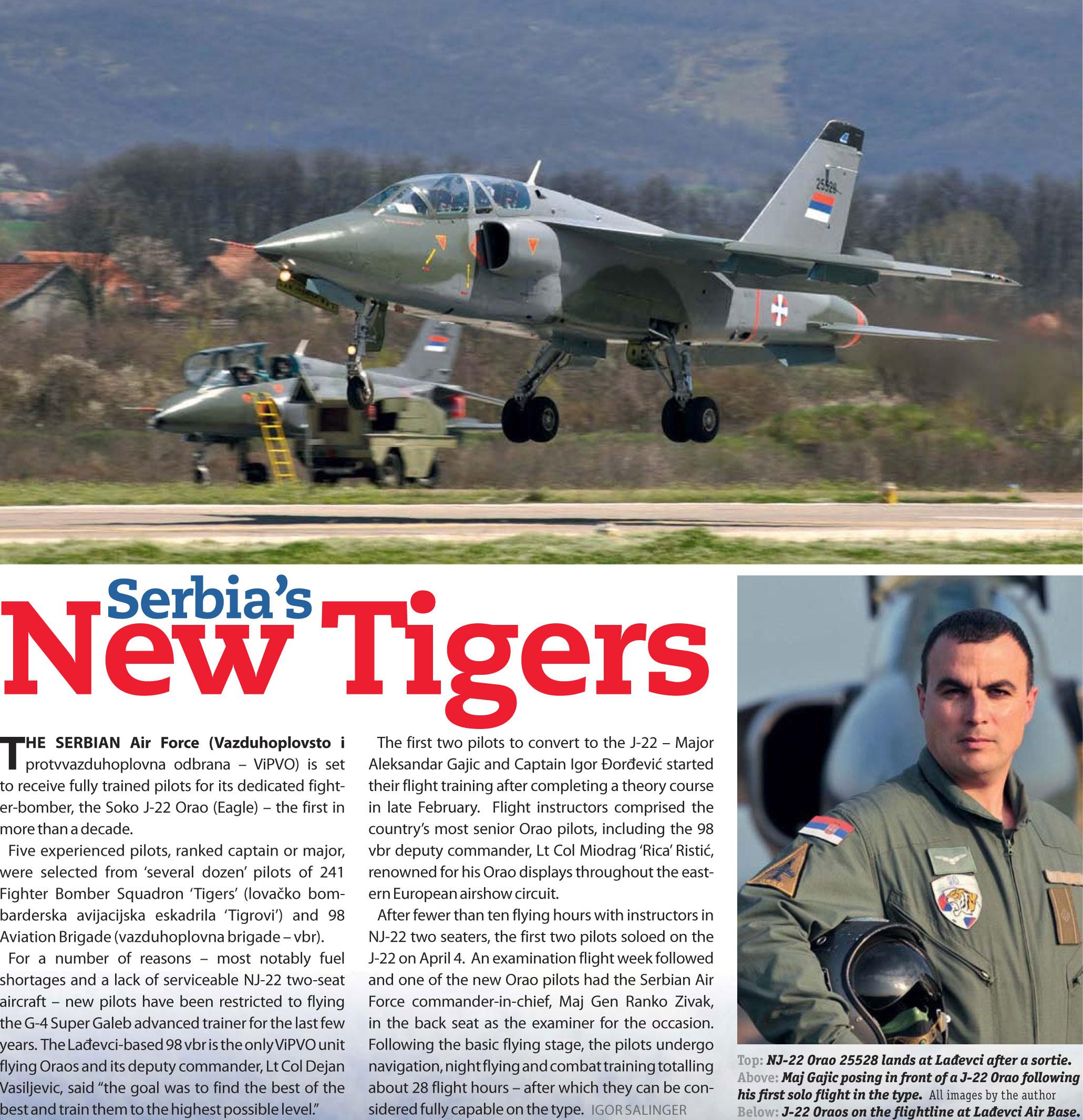 Serbia s New Tigers