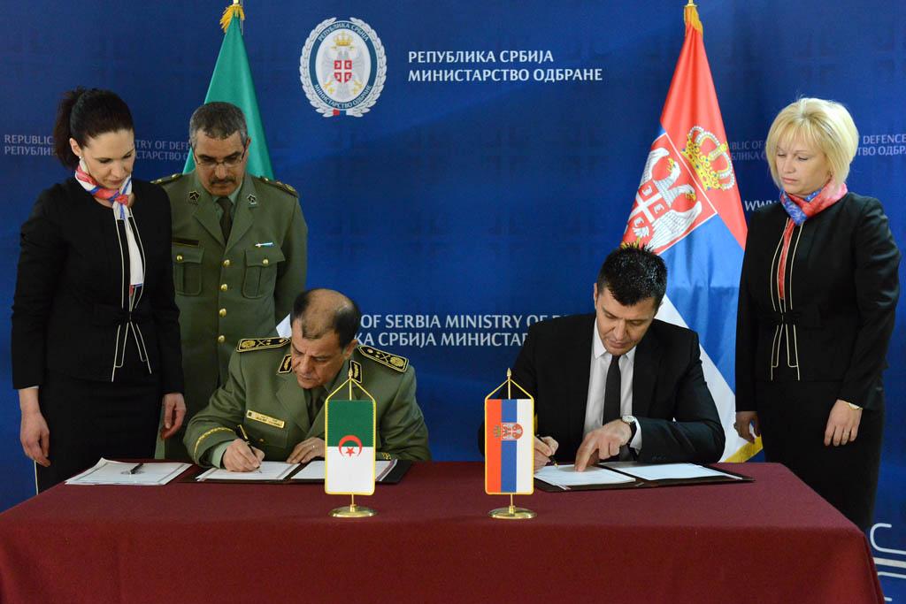 Drugo zasedanje Alžirsko srpske mešovite komisije