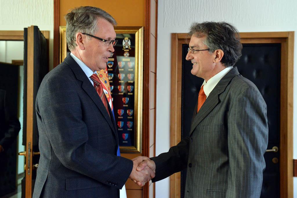 Састанак министра одбране са амбасадором Руске Федерације