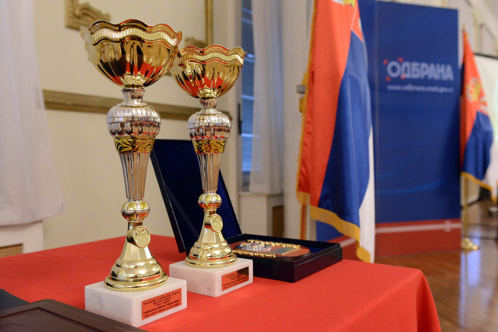 Selection of the best athlete and the sports team of the Serbian Armed Forces