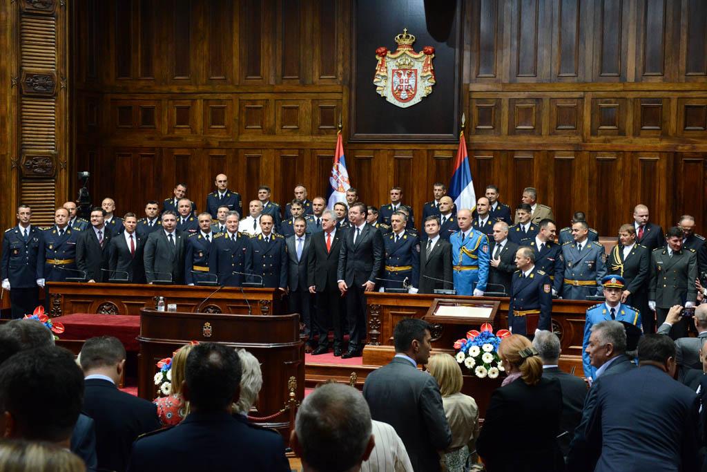 Свечаност у Дому Народне скупштине
