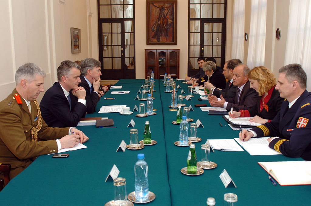 Cooperation between Serbia and the Great Britain