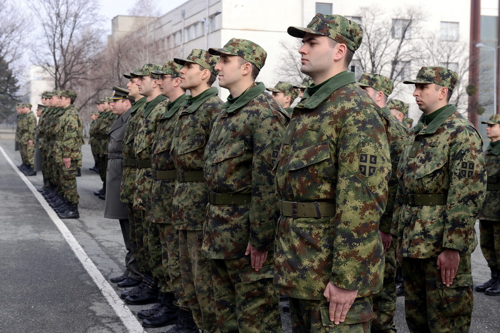 Promotion of the new generation of reserve officers