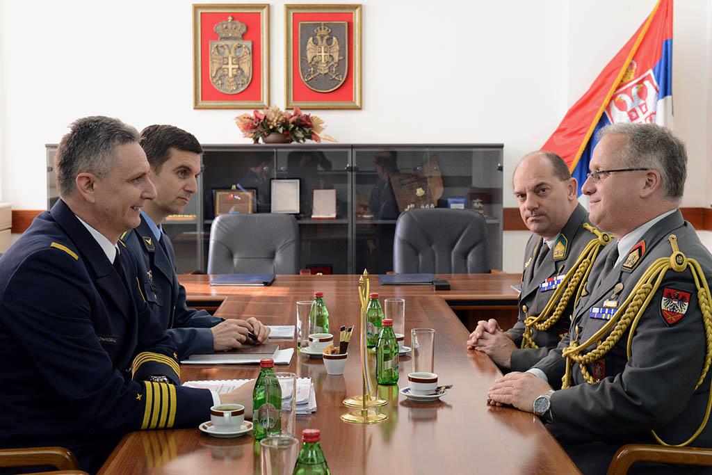 Potpisan Plan bilateralne vojne saradnje sa Austrijom