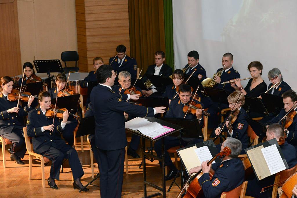 Концерт Уметничког ансамбла Станислав Бинички у Војној академији