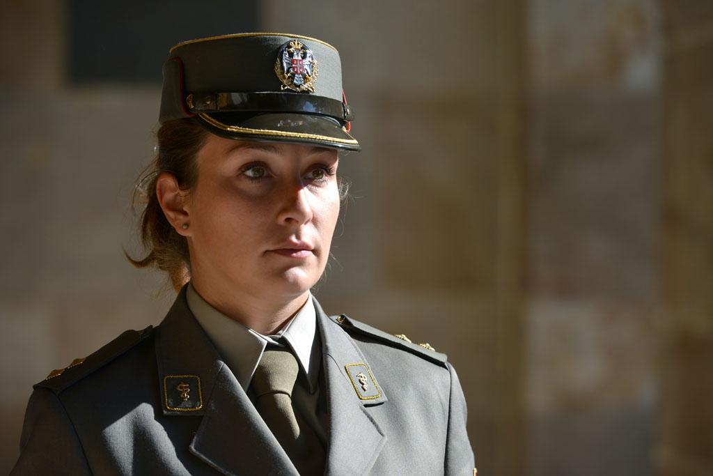 Прва жена официр Војске Србије у мировној мисији