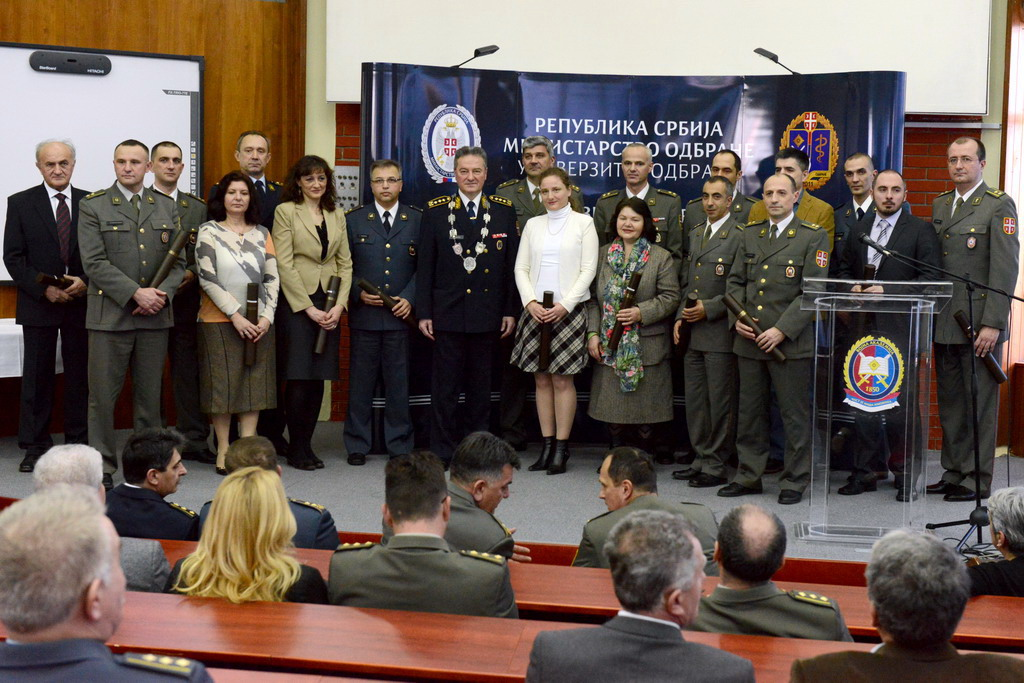 New doctors of science of the University of Defence promoted