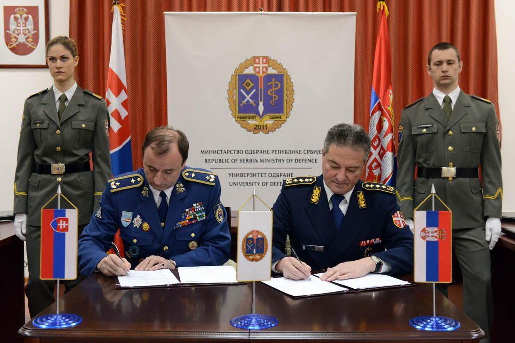Потписани споразуми о сарадњи универзитета одбране