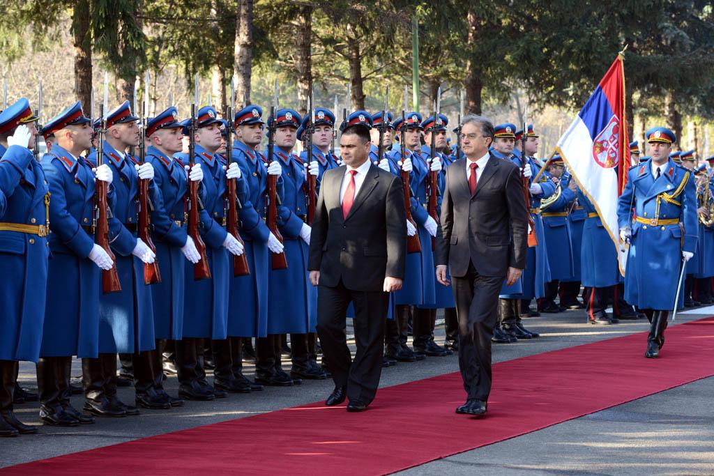 Посета министра одбране Републике Молдавије