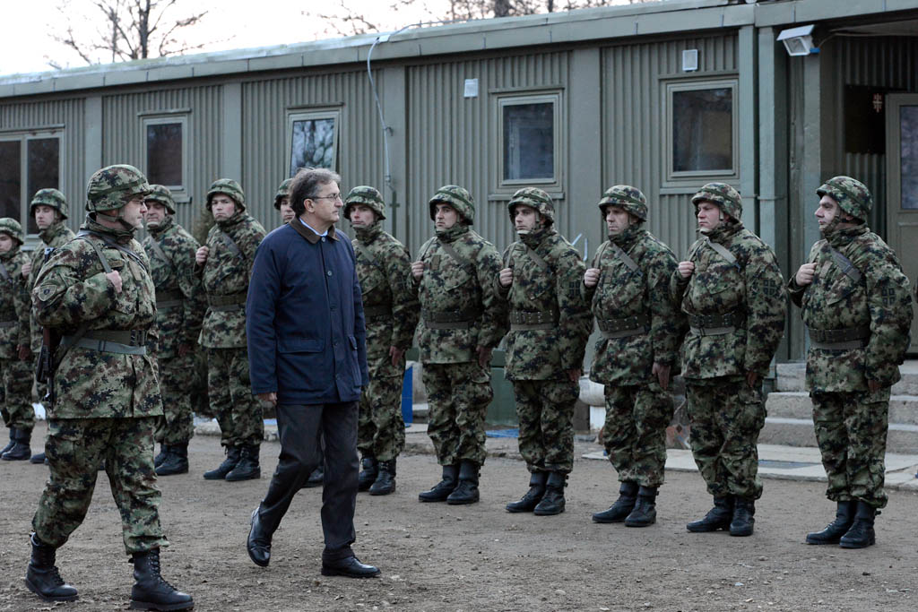 Обилазак базе Трмка у Копненој зони безбедности