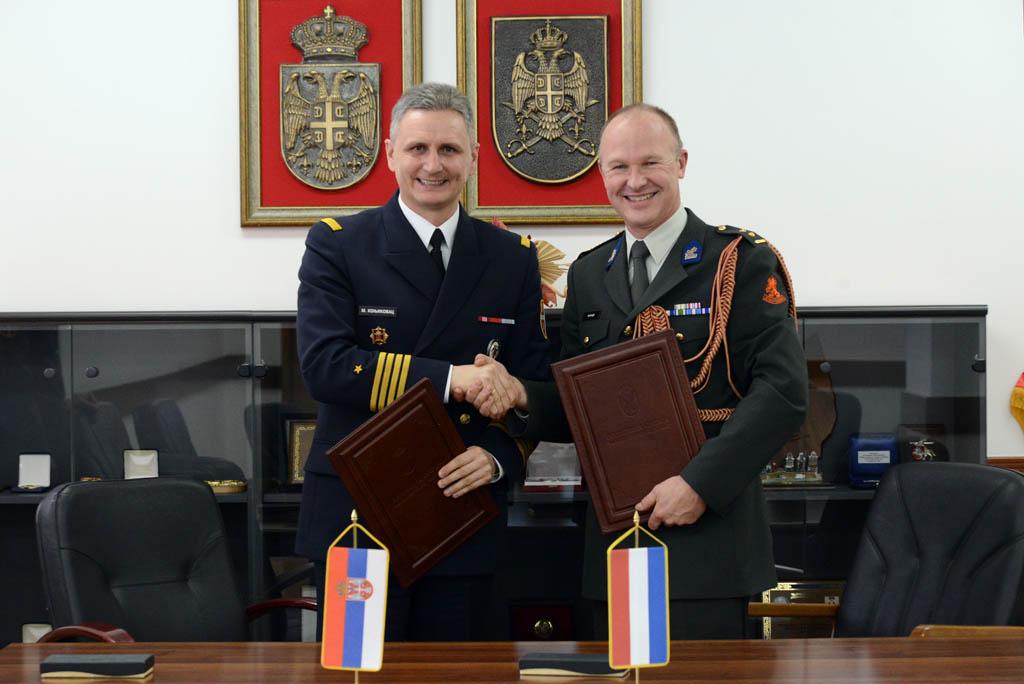 Potpisan Plan bilateralne vojne saradnje sa Kraljevinom Holandijom
