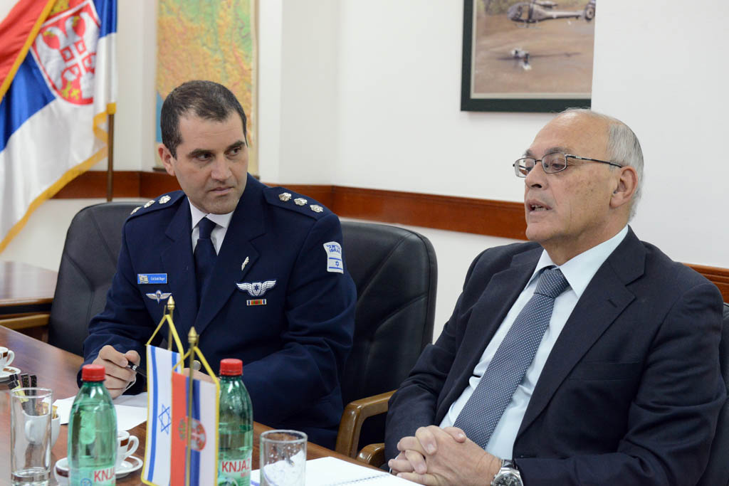Visit of the delegation of the Ministry of Defence of Israel