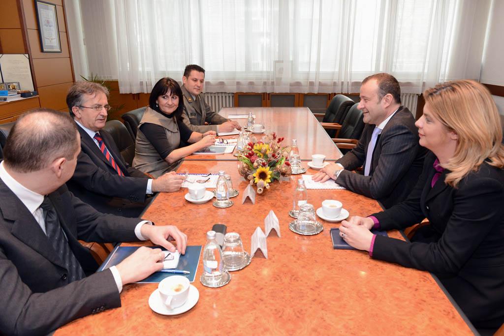 Сарадња Министарства одбране са Међународном организацијом за миграције