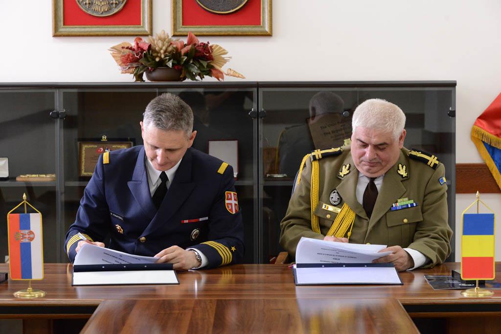 Потписан План Билатералне војне сарадње са Румунијом