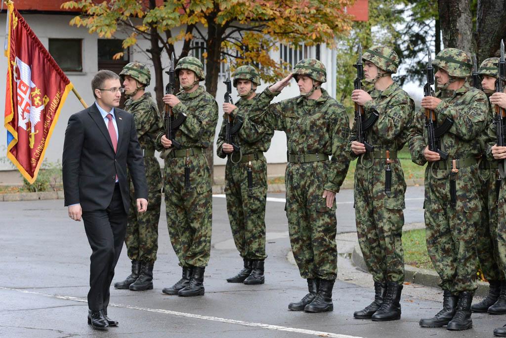 Председник Народне скупштине у Специјалној бригади