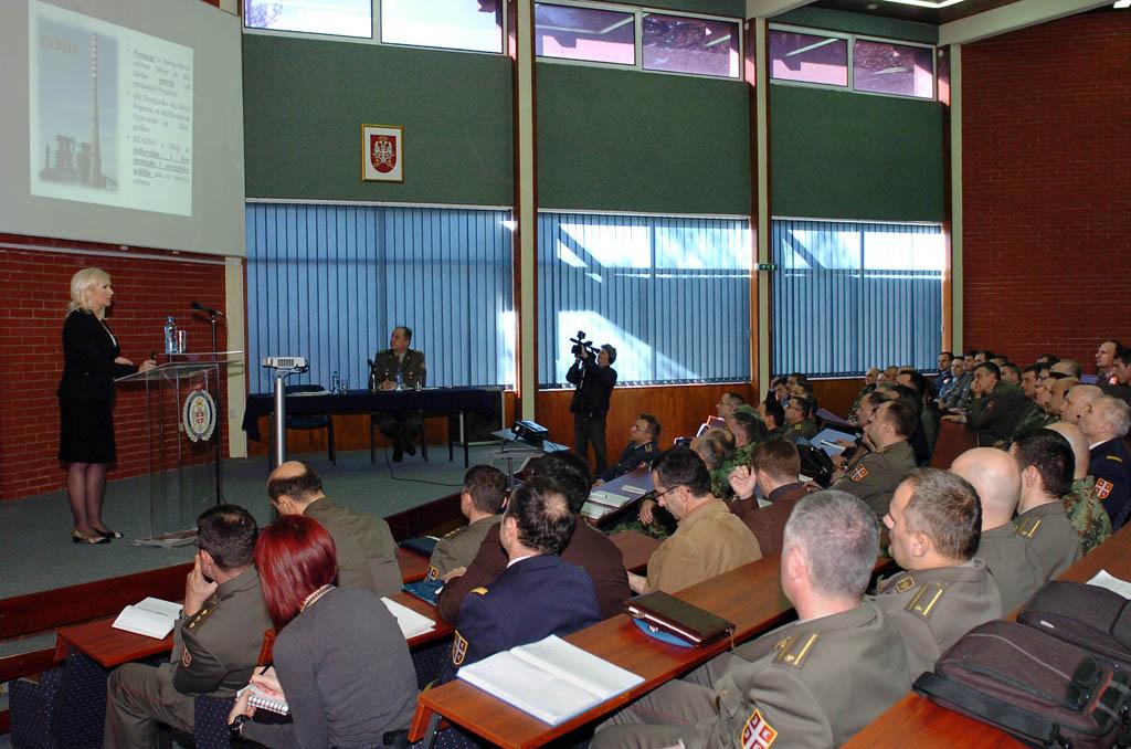 Предавање министарке Михајловић у Школи националне одбране
