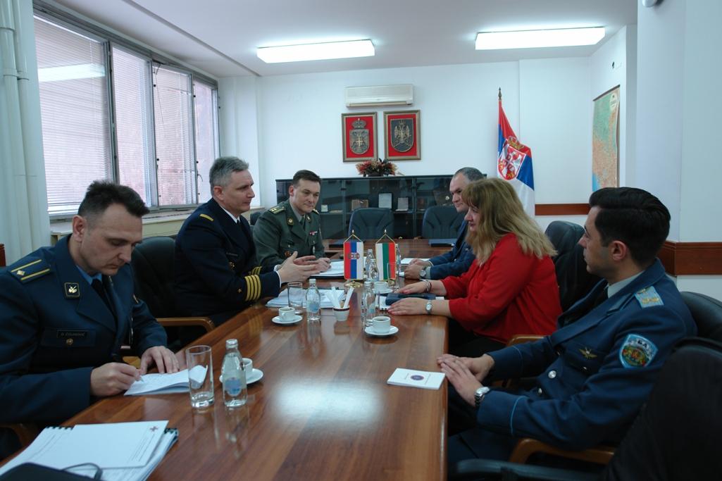 Прве билатералне одбрамбене консултације са Бугарском