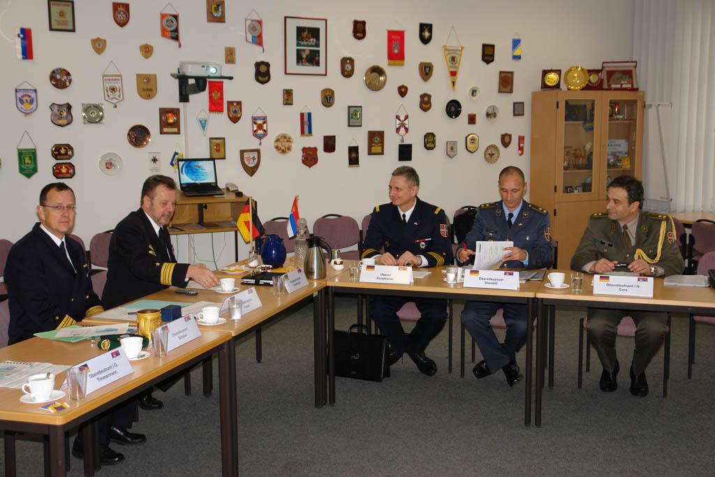 Bilateral defence consultations in Germany