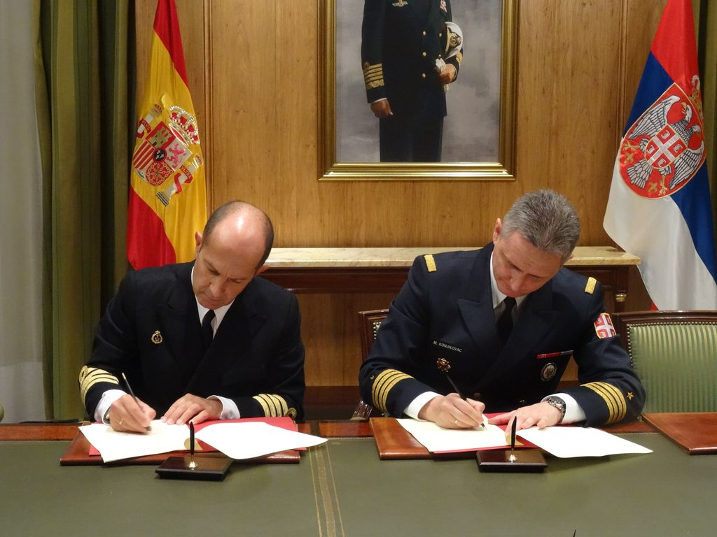 Bilateral Military Cooperation Plan with the Kingdom of Spain signed