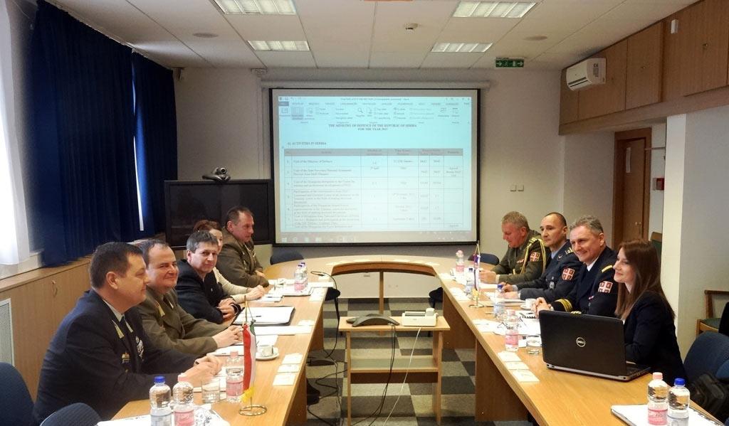 Нове димензије сарадње у области одбране са Мађарском