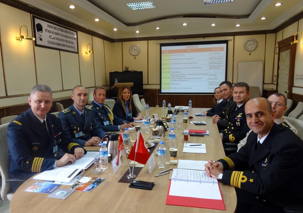 Билатералне одбрамбене консултације са Турском