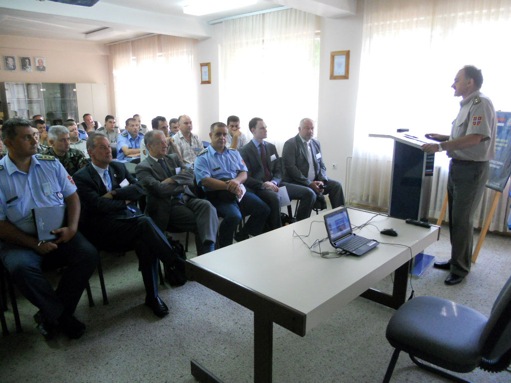 Seminar on stockpile and ammo management