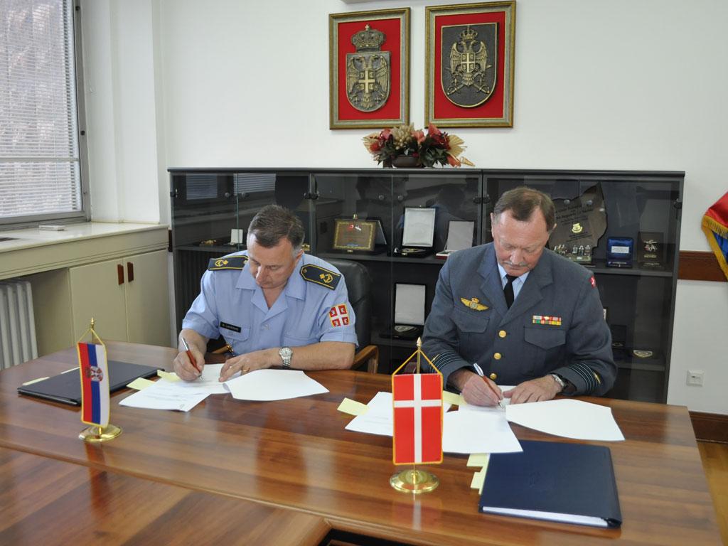 Потписани протоколи о донацији Краљевине Данске