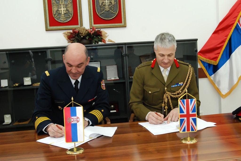 Donacija Ambasade Ujedinjenog Kraljevstva Upravi za odnose sa javnošću