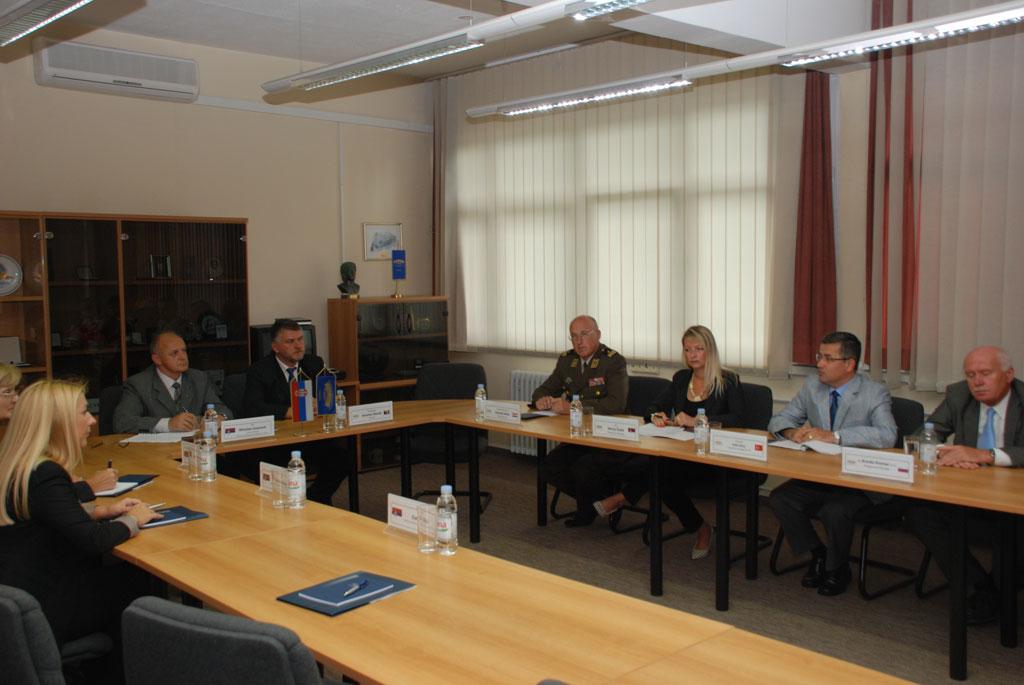MOD delegation visit RACVIAC