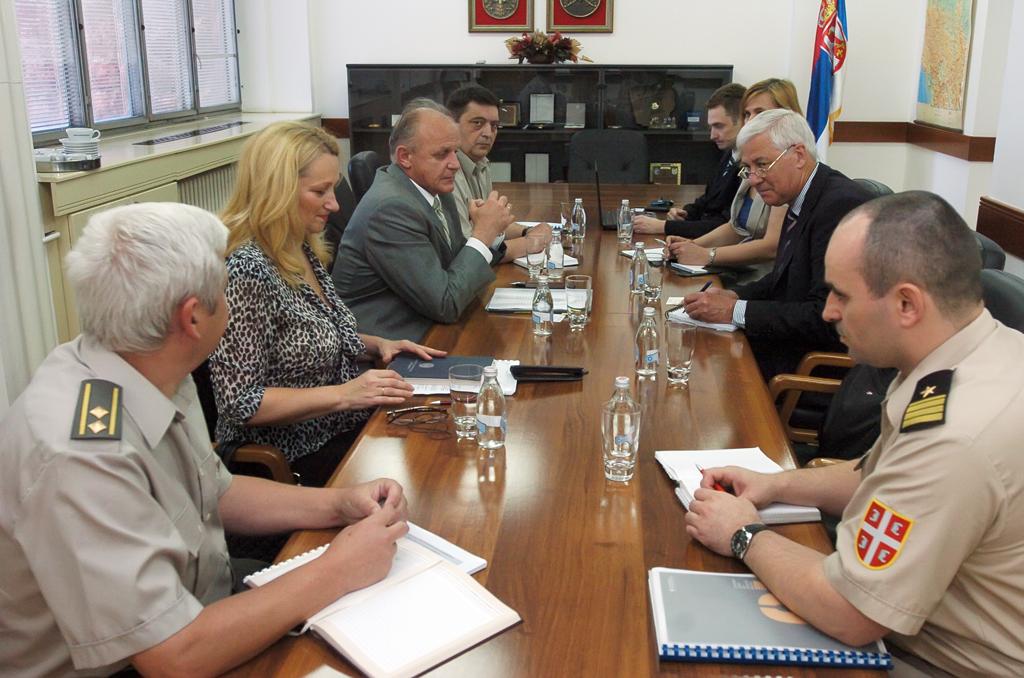 Sastanak sa predstavnikom organizacije Međunarodna transparentnost