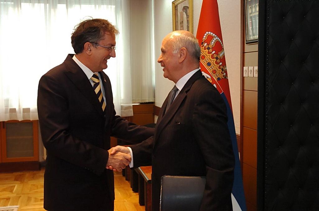 Сусрет министра Родића и амбасадора Словачке