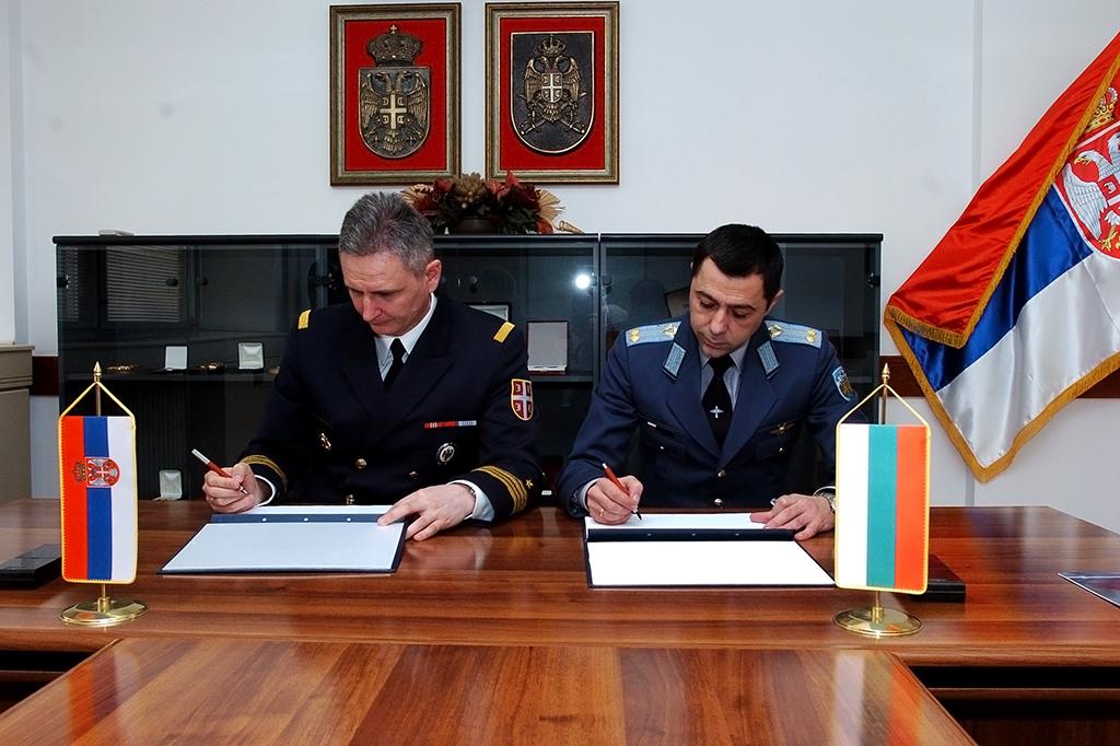 Потписан План билатералне војне сарадње са Бугарском