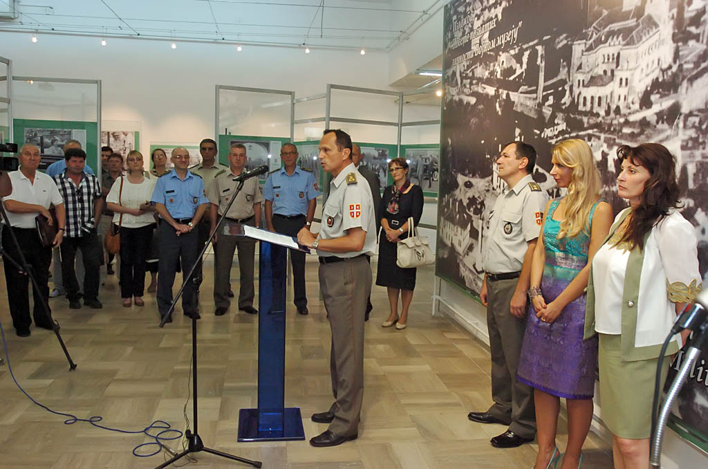Photo exhibition Visits of Celebrities to the Military Museum