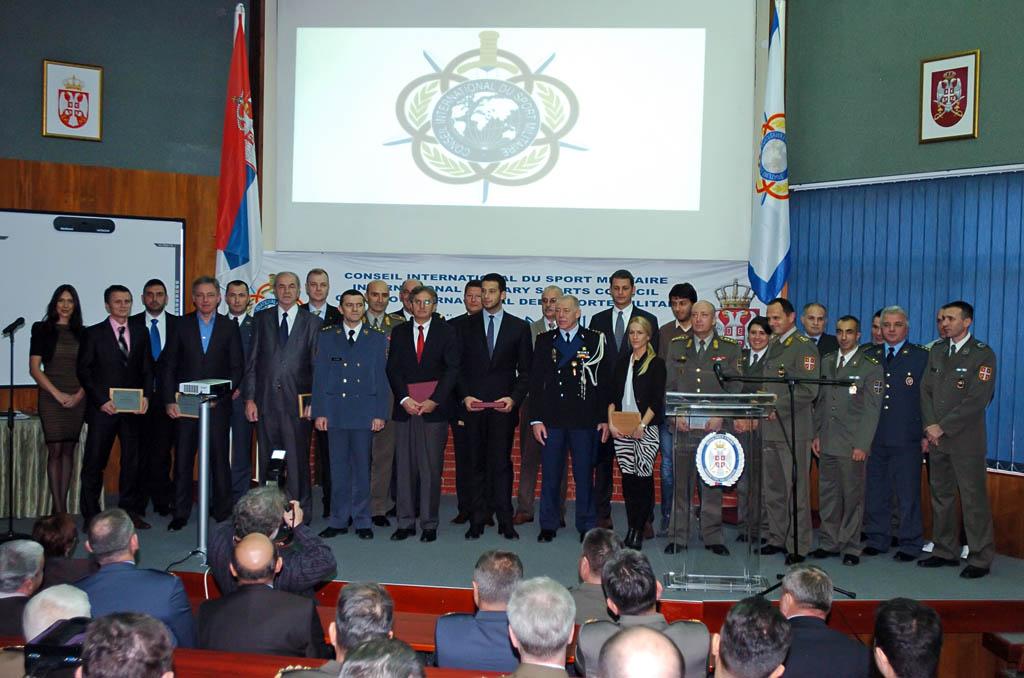 Десет година чланства Србије у CISM