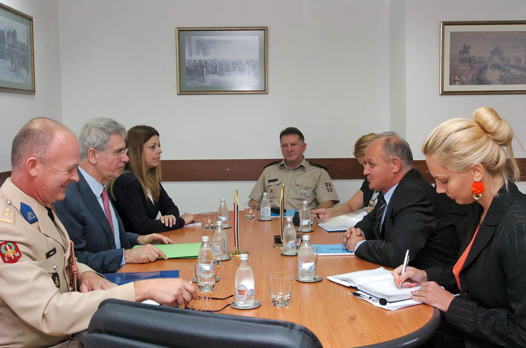 Assistant Minister Jovanovic meets with the ambassador of the Netherlands