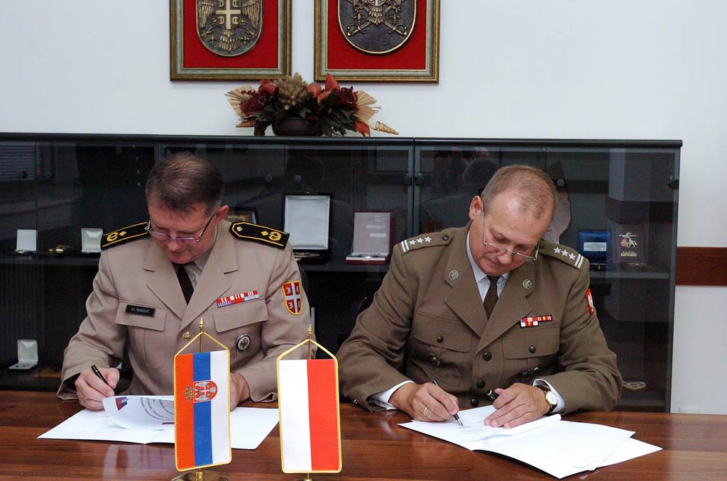 Потписан План билатералне војне сарадње са Пољском