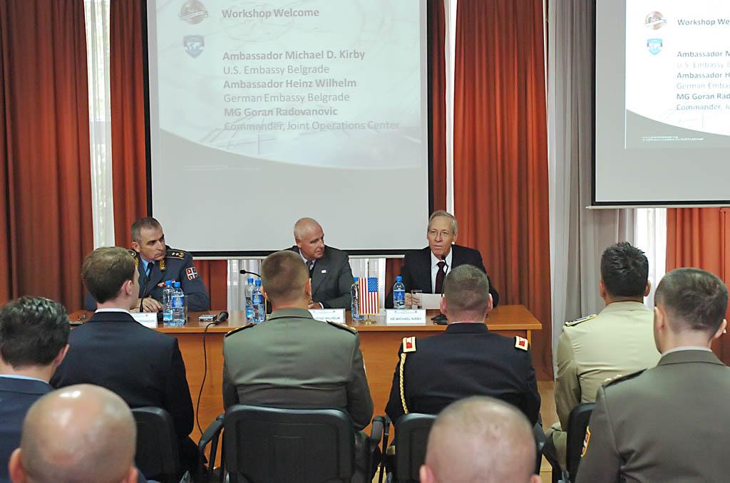 У Центру за мировне операције отворен семинар о операцијама мира и стабилности