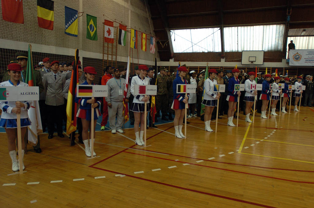 Minister Vucic opens the 55th World Military Cross Country Championship