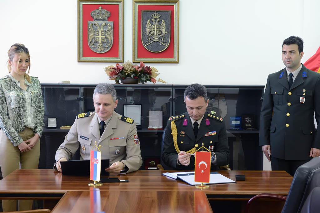 Potpisan Plan bilateralne vojne saradnje sa Republikom Turskom
