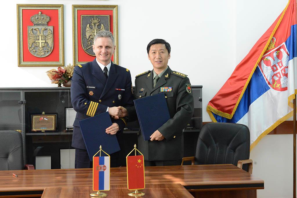 Потписан План билатералне војне сарадње са НР Кином