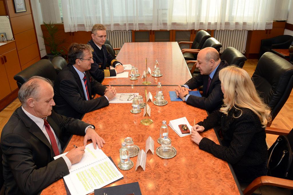 Minister Rodić had talks with the Ambassador of Azerbaijan